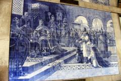 Mosaics a l´Estació d´Oporto